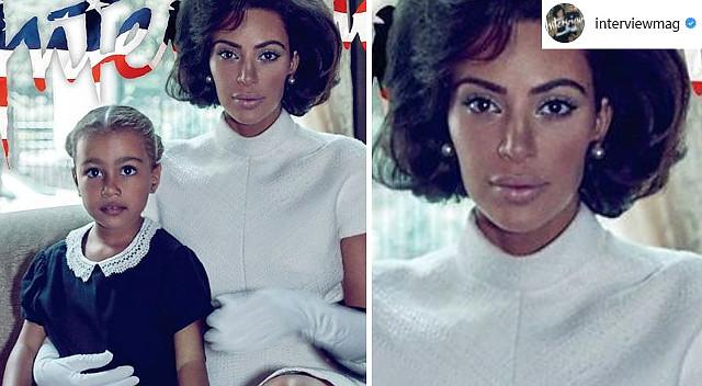 Tego jeszcze nie było: Kim Kardashian jako Jacqueline Kennedy Onassis (ZDJĘCIA)
