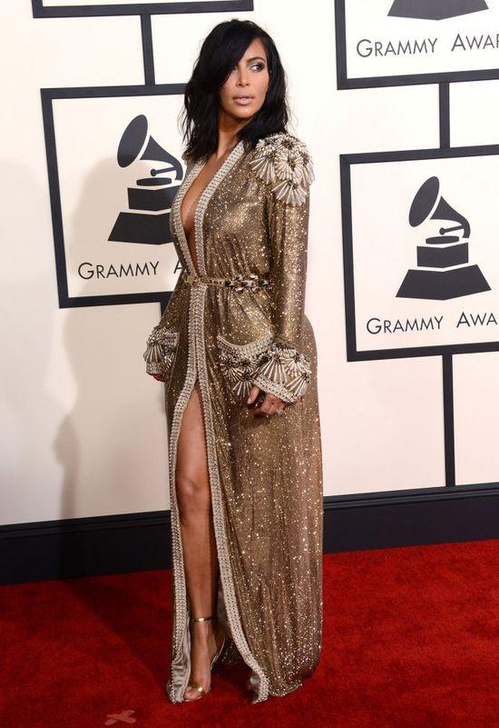 Zmrużcie oczy - od Kim Kardashian bije blask! (FOTO)