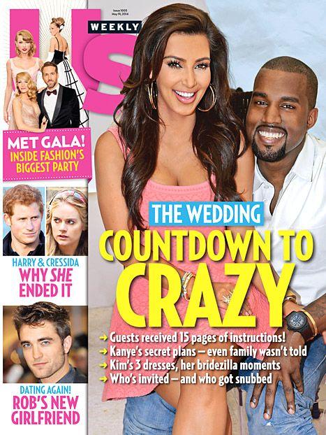 Zobaczcie ZAPROSZENIE na ślub Kim Kardashian i Kanye Westa