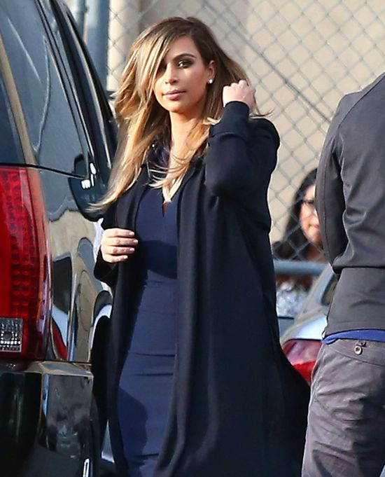 Kim Kardashian... stylową mamą? (FOTO)