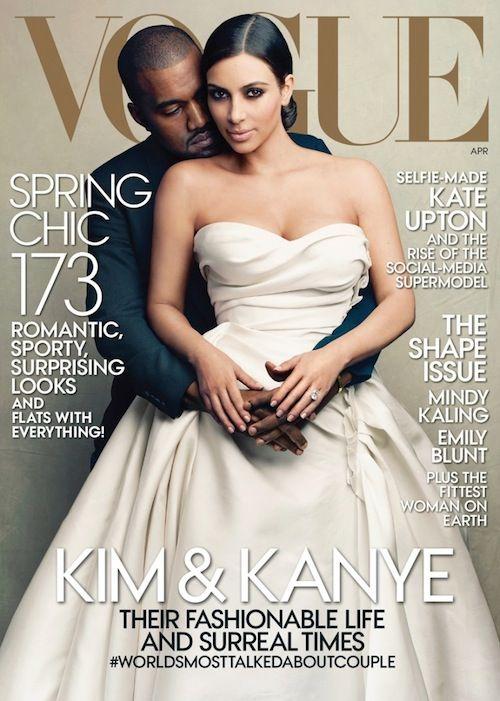 Jest POZEW przeciwko Vogue z Kim Kardashian na okładce!