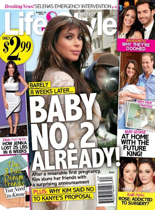 Kim Kardashian jest w drugiej ciąży?!