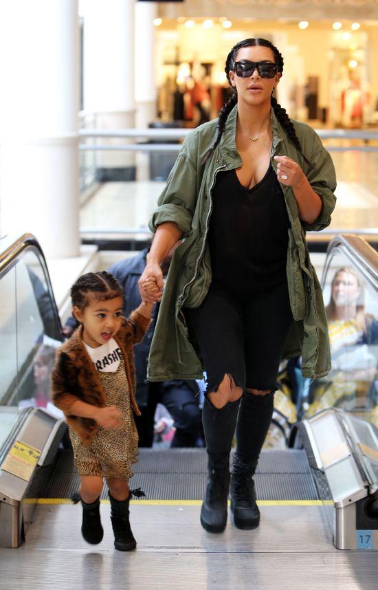 Nie uwierzysz, w co Kim Kardashian ubrała North West