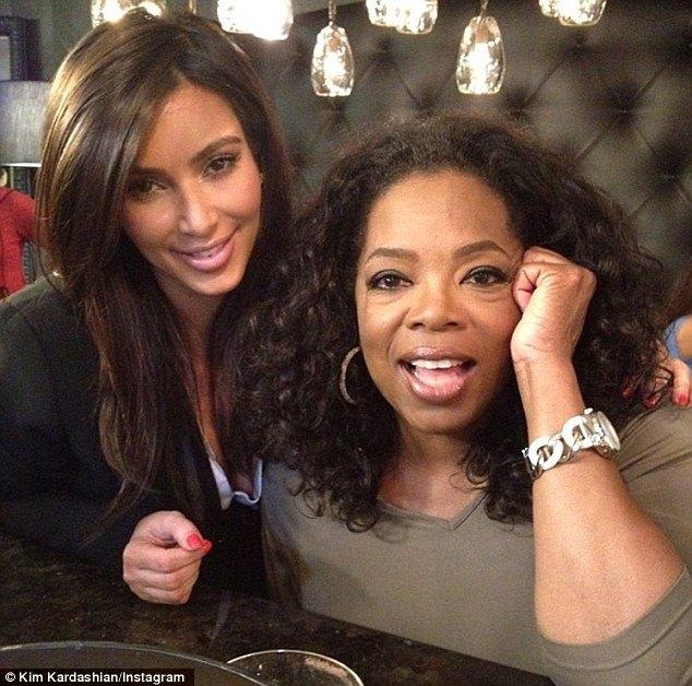 Kim Kadarshian zwierza się Oprah Winfrey