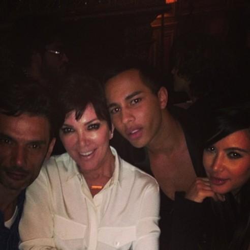 Kanye West nie chcia� odwiedzi� Kim Kardashian w Pary�u
