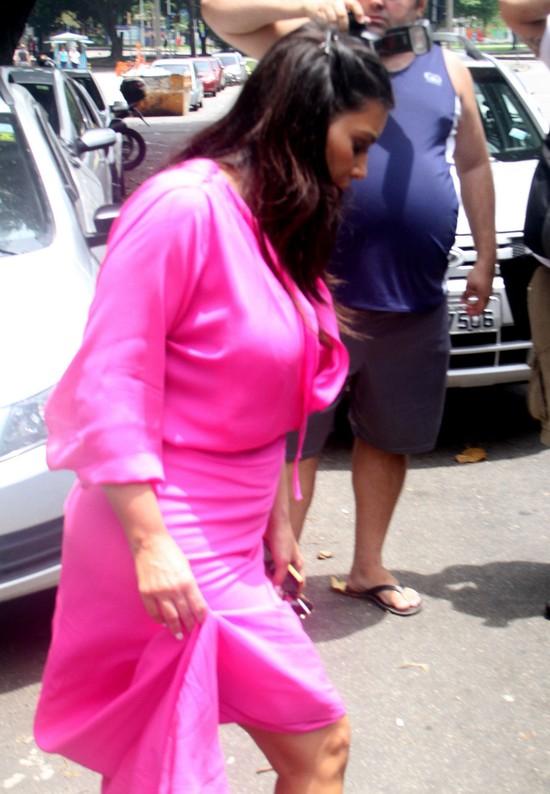 Kim Kardashian w Rio - jaka ona duża! (FOTO)