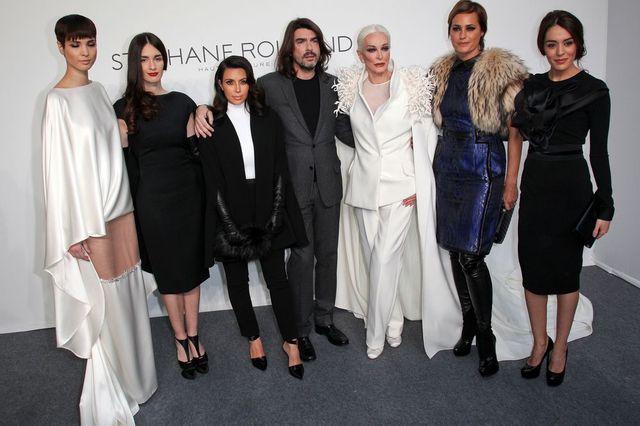 Kim Kardashian na Tygodniu Mody w Pary�u (FOTO)