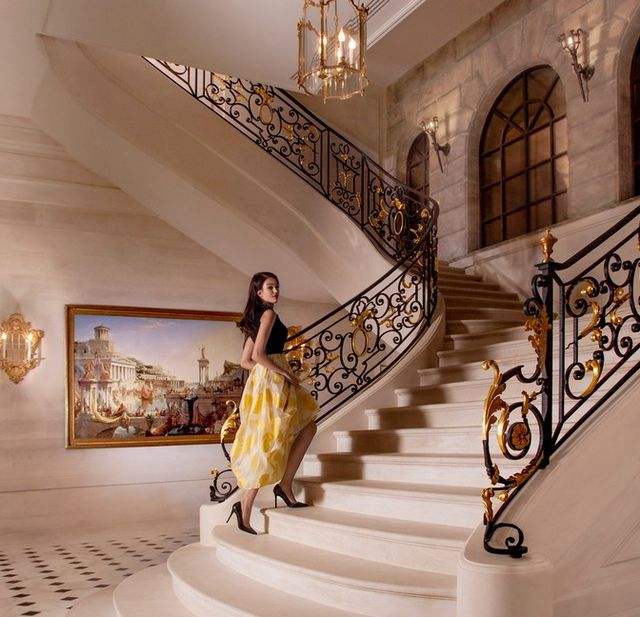 To w tym pałacu odbędzie się 3 ślub Kim Kardashian (FOTO)
