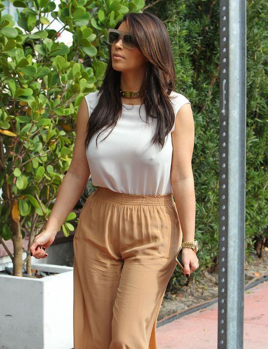 Kim Kardashian i jej odzieżowe wpadki