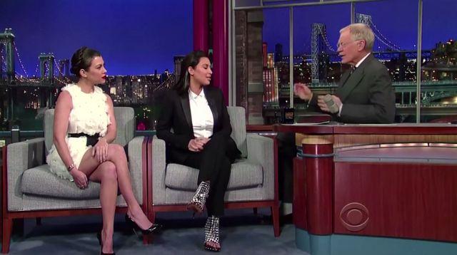Letterman do Kim: To teraz masz dwóch mężów?