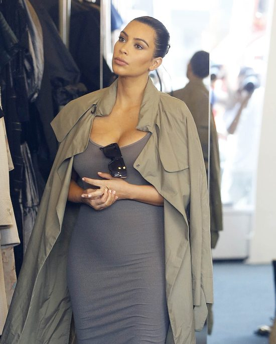 Kim Kardashian w 5. miesiącu ciąży - zdradza, ile przytyła