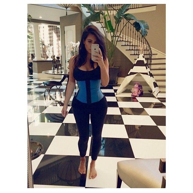 Kim Kardashian ma obsesj� na punkcie talii (FOTO)