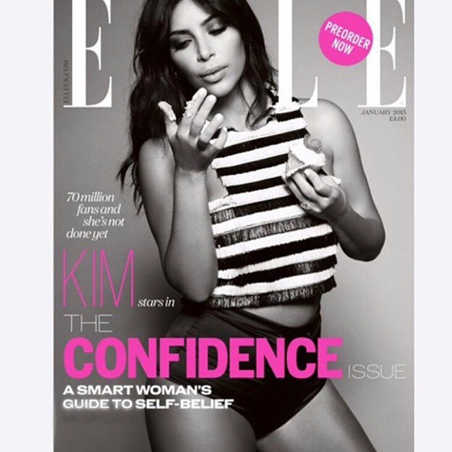 Kim Kardashian w wielkich MAJTACH na okładce (FOTO)