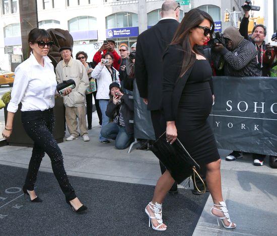 Kim Kardashian nienawidzi być w ciąży!