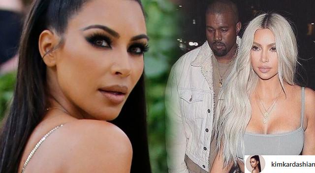 Kim Kardashian tłumaczy, dlaczego Kanye nie przyszedł z nią na Met Galę