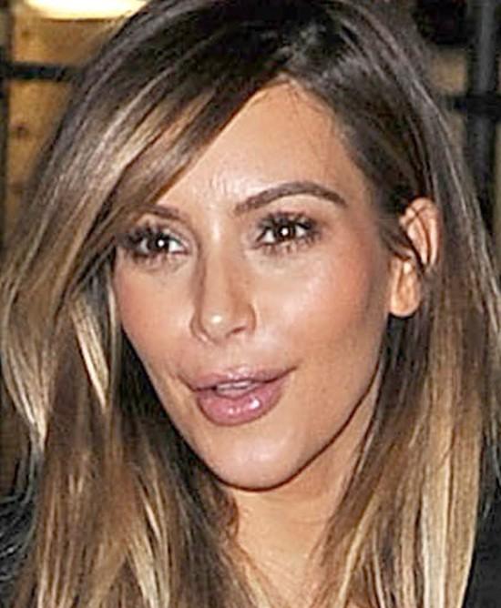 Kim Kardashian przesadziła z botoksem w okolicy ust (FOTO)