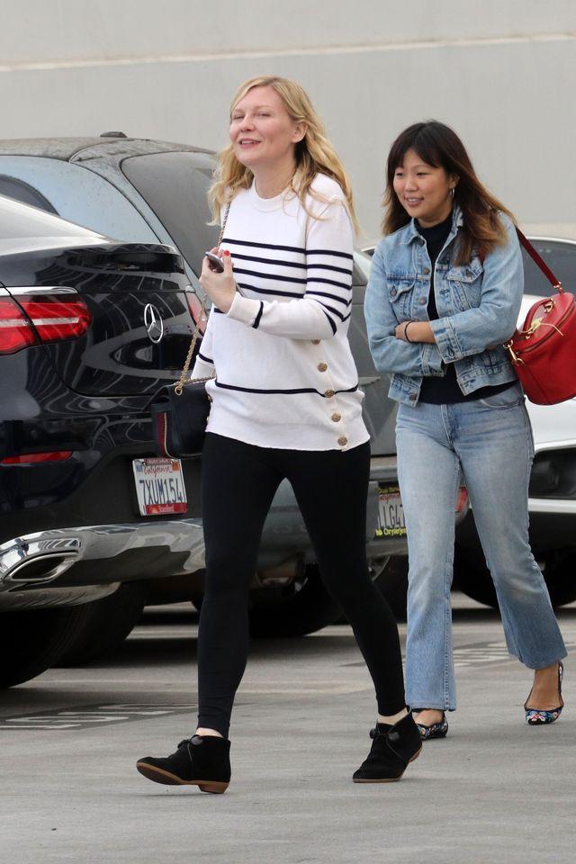 Kirsten Dunst w ciąży - widać brzuszek? (ZDJĘCIA)