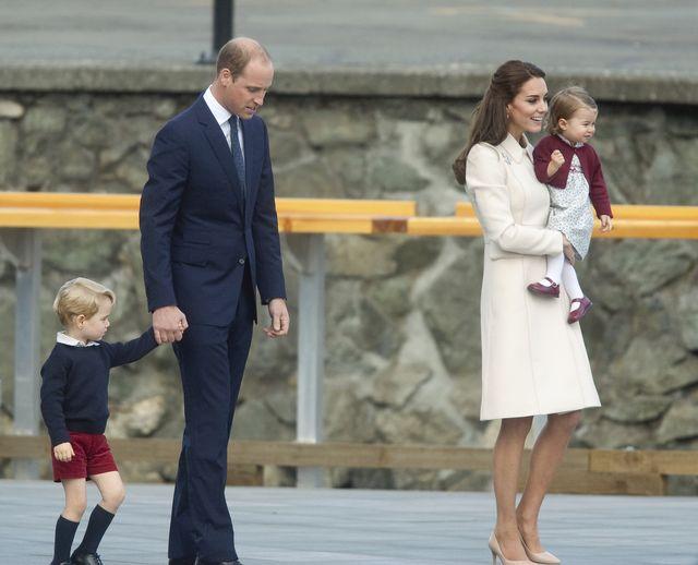 Jak książę William zachowywał się, gdy pierwszy raz został ojcem?