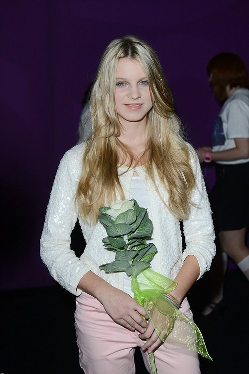 Pastelowa Klaudia Kulawik na premierze filmu (FOTO)