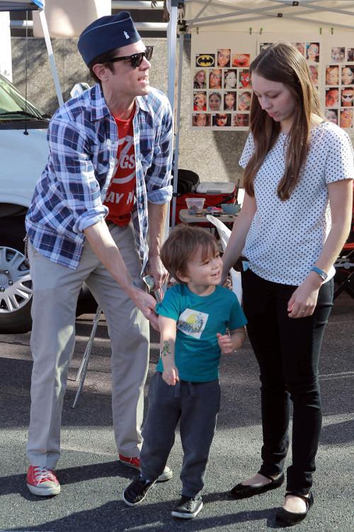 Johnny Knoxville, gwiazdor Jackass jako przykładny tata!