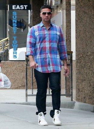 Mike Sorrentino pozazdrościł Snooki sławy? (FOTO)