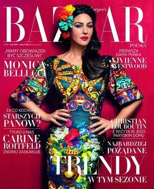 Monika Belluci gwiazdą najnowszego Harper's Bazaar