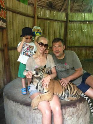 Dariusz Michalczewski na wakacjach z rodzinką (FOTO)