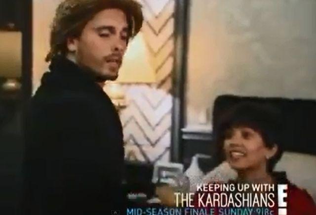 Kourtney Kardashian i Scott Disick kręcą porno (VIDEO)