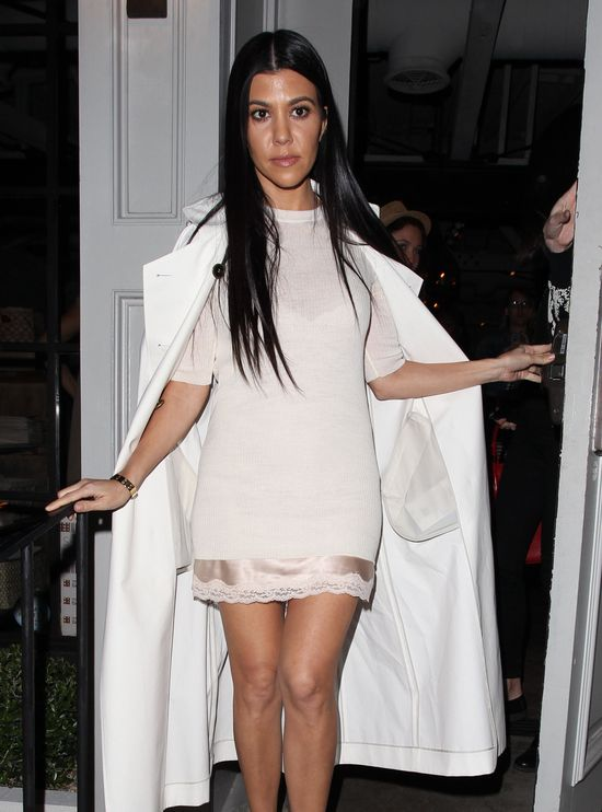 Kourtney Kardashian i Lyly Aldridge