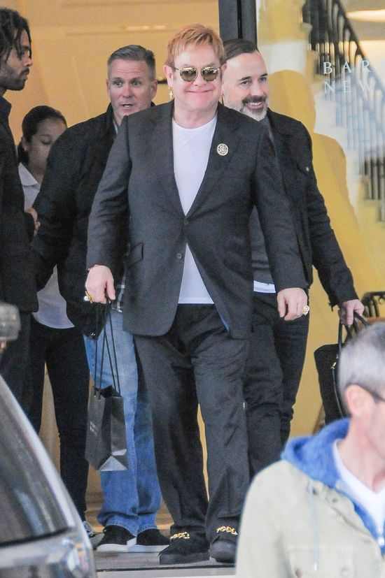 Kourtney Kardashian wspomina gal� Eltona Johna