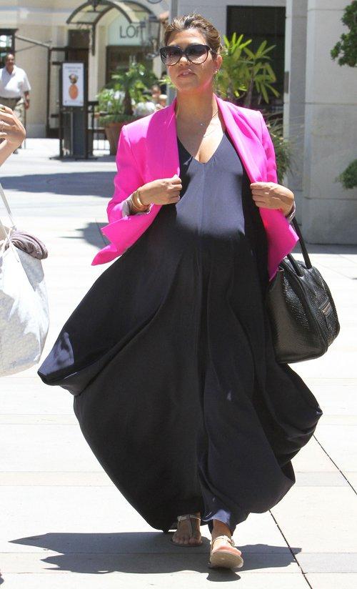 Kourtney Kardashian w ciąży przytyła ponad 20 kilo