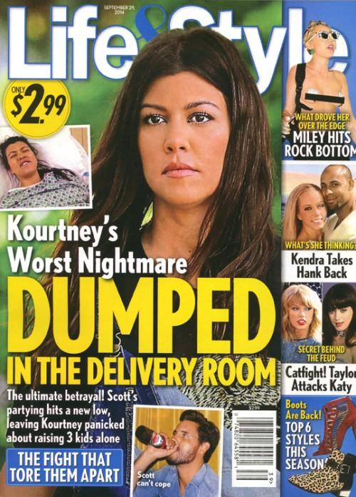Kourtney Kardashian ma dziwne obawy zwi�zane ze porodem