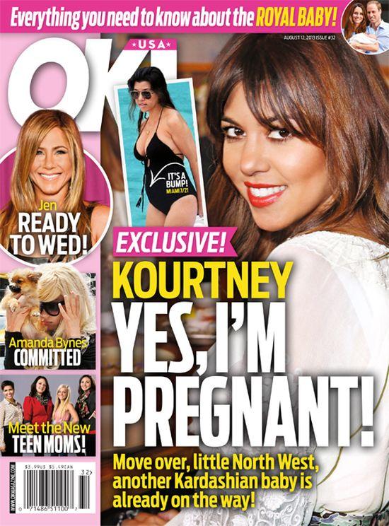 Kourtney Kardashian jest w ciąży? (FOTO)