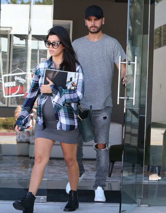 Kourtney Kardashian wyzna�a, �e chce zostawi� Scotta Disicka