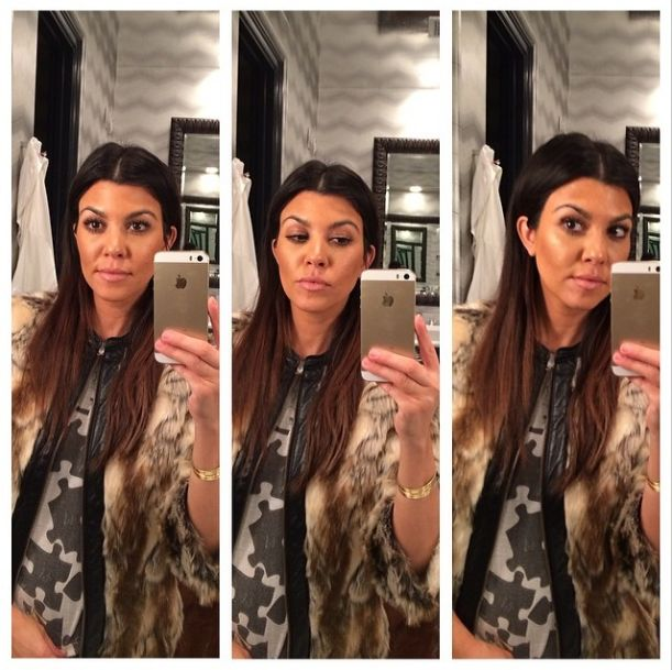 Kourtney Kardashian też rozjaśniła włosy (FOTO)