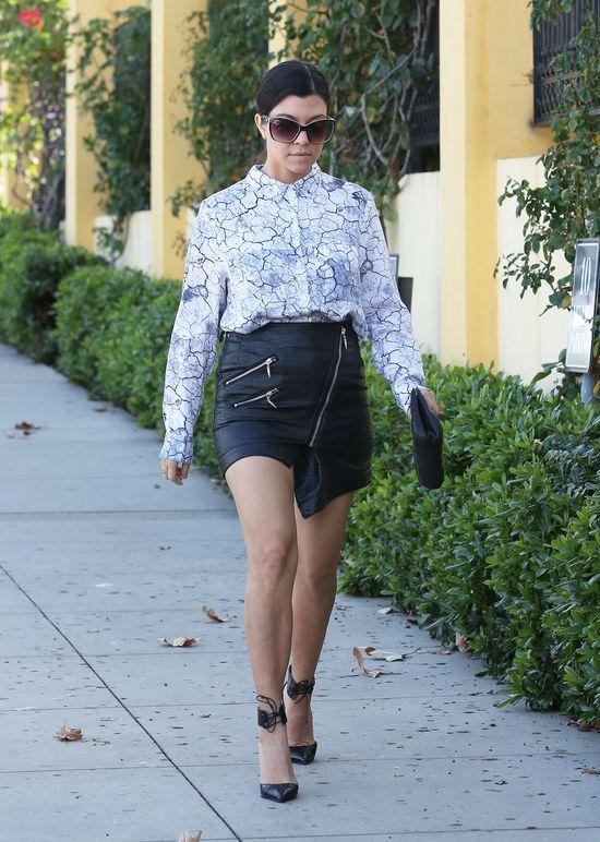 Kourtney Kardashian jak prawdziwa gwiazda (FOTO)