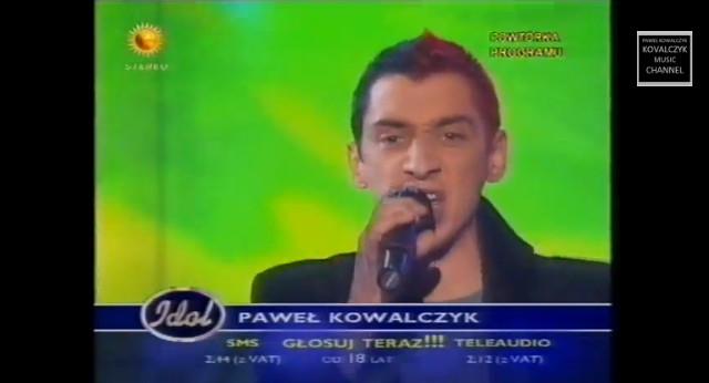 Pamiętacie Pawła Kowalczyka z Idola? (VIDEO)