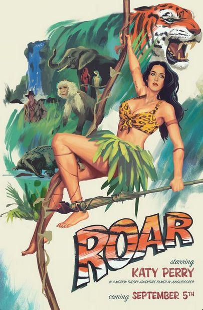 Katy Perry promuje Roar (FOTO)