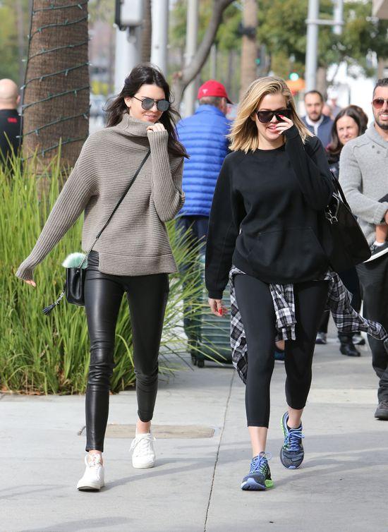 Khloe i Kendall jak Pi�kna i Bestia? (FOTO)