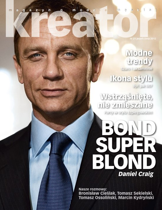 W nowym Playboyu: Jak James Bond dba o swe cia�o (FOTO)