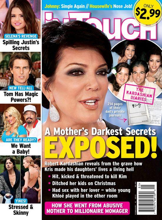 Kris Jenner zostawiała małe dzieci na całe dnie
