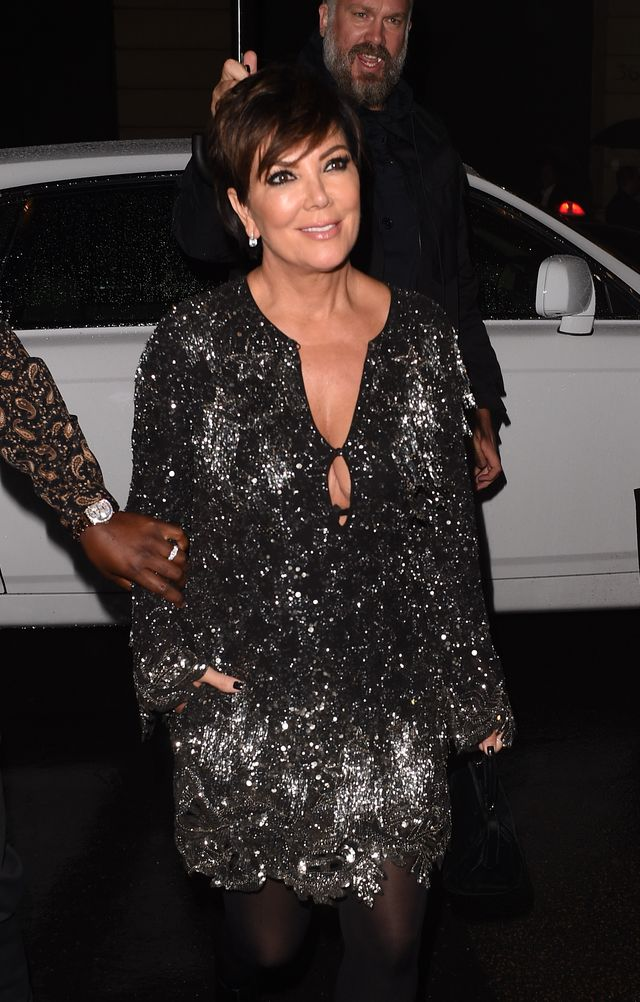 Znany dziennikarz poprosił Kris Jenner o komentarz na temat ciąży córki