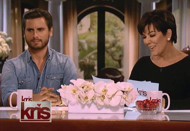 Kris Jenner i Scott Disick nie noszą bielizny (VIDEO)