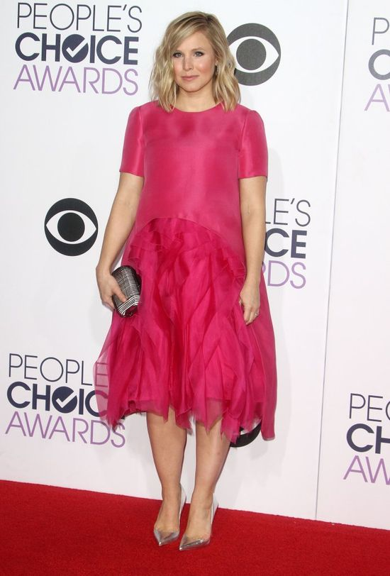 Kristen Bell na gali trzy tygodnie po porodzie (FOTO)