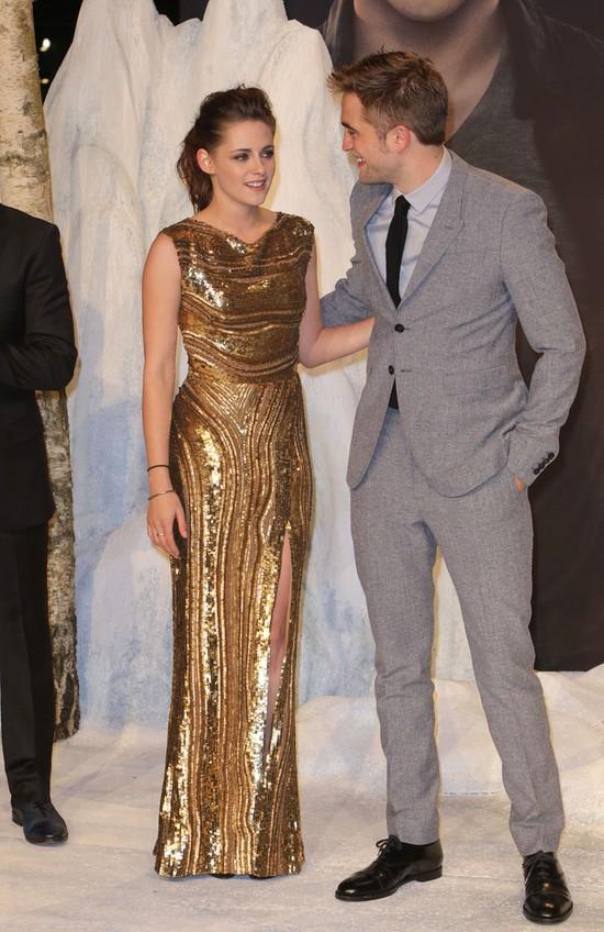 Stewart i Pattinson - czułości w Berlinie i Madrycie