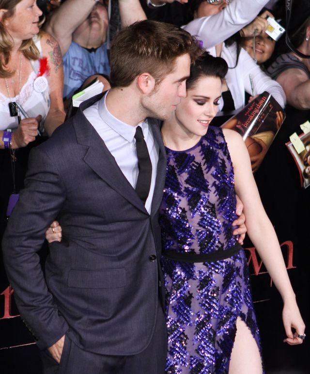 Wspólne zdjęcia Kristen Stewart i Roberta Pattinsona to usta
