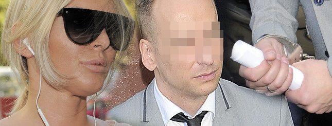 Izabela Adamczyk na rozprawie męża, Dariusza K. (FOTO)
