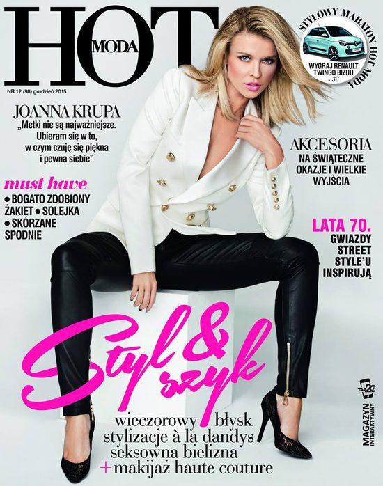 Joanna Krupa w Hot mówi, dlaczego uwielbia dekolty