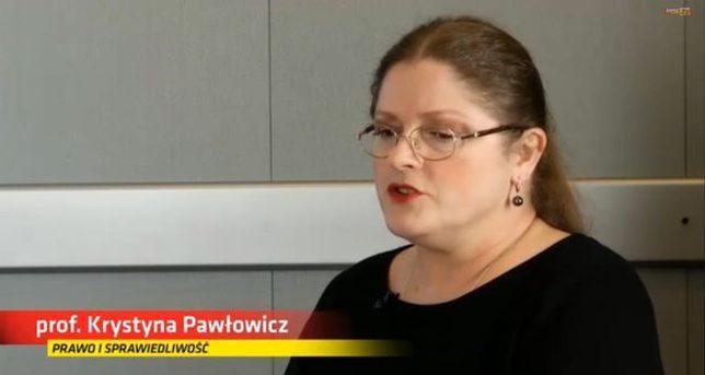 Krystyna Pawłowicz do krytykujących ją internautów: TROLLE