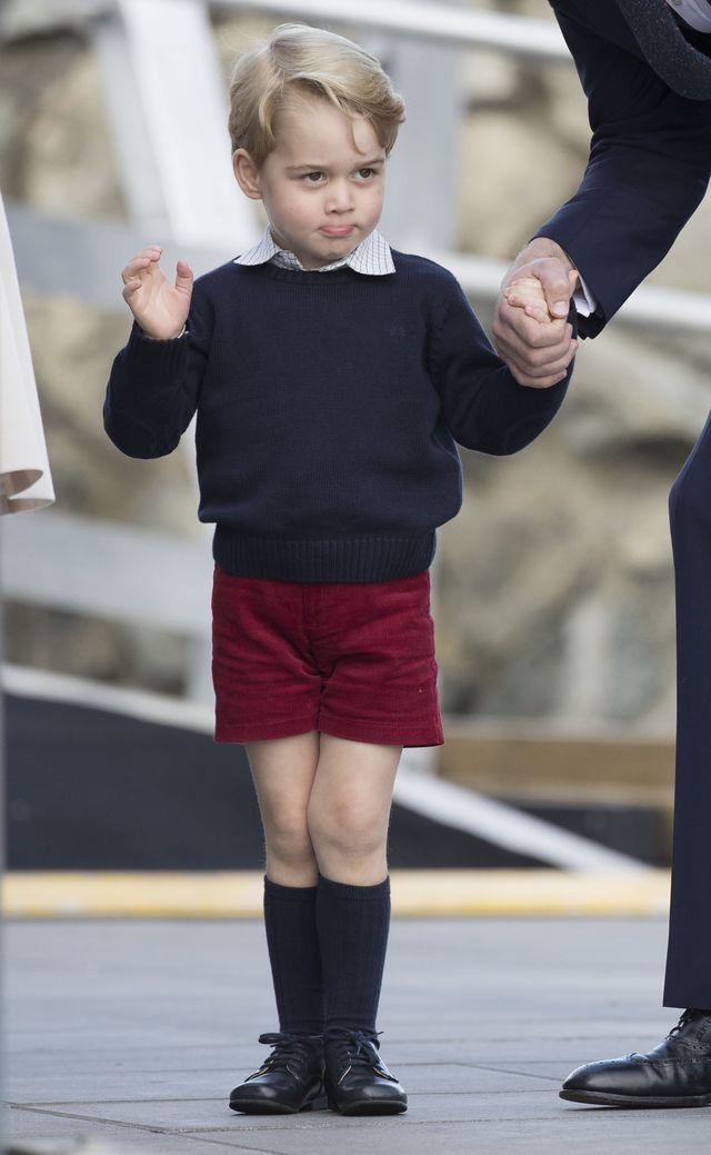 Koszmar szkolnej stołówki nie dotyczy księcia George'a